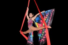 Elise Sellen - Aerialist / Acrobat - Isle of Dogs, London