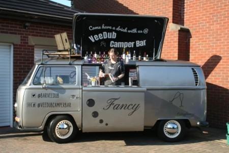 Flowing Events / VeeDub Camper Bar/ Prosecco Van Hire / Fancy Flutes - Mobile Bar