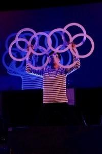 Isolation Magic act - Cabaret Magician