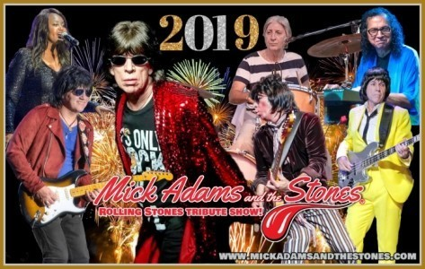 Mick Adams and The Stones® - The Rolling Stones Tribute Band