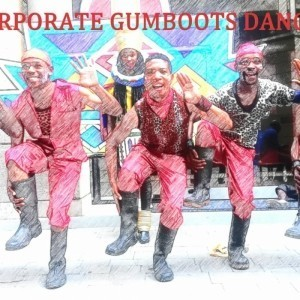 African Traditional Dancers and Gumboots Dancers  - Street Performer