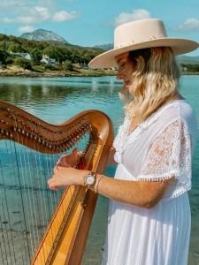 Martha In The Stars  - Harpist