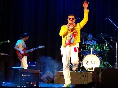 Becoming Freddie.   - Freddie Mercury Tribute Act