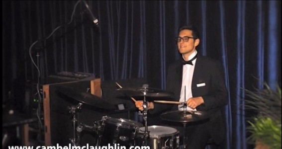 Cambel Mclaughlin -professional drummer and percussionist image