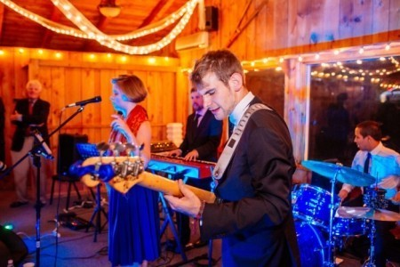 Blue Avenue Groove - Wedding Band