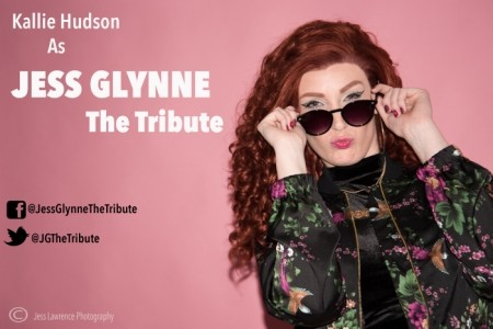 Kallie hudson as Jess Glynne  - Tribute Act Group