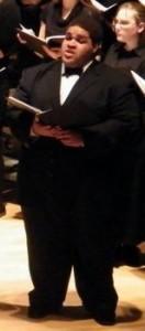 Tasheen Parrish Thomas - Male Singer