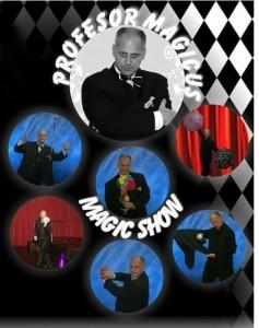 ION SORIN POROJAN  - PROFESOR MAGICUS - Cabaret Magician