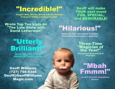 Geoff Williams - Comedy Cabaret Magician