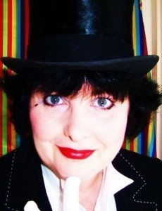 MAD MISS MERLYNDA! - Cheeky Comedy Performance Poet - Saucy Comedy Singer-Songwriter - Fantastic British Music Hall Singer - and - Wickedly Waggish Ventriloquist - Adult Stand Up Comedian