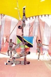 Serengeti Warriors - Aerialist / Acrobat