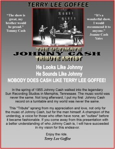 Terry Lee Goffee  - Johnny Cash Tribute Act