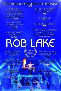 Rob Lake - seen on AGT - Stage Illusionist