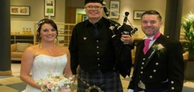 Colin Sutherland - Highland Piper image