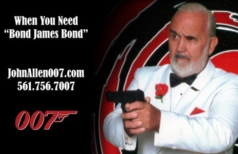 James Bond Lookalike, John Allen image