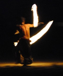 Bash & the Fire Dancers of Creative Flame - Fire Performer