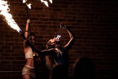 Carrie Hammack - Fire Performer