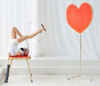 Foot archery performance, Contortion, Aerial hoop, Aerial silk - Contortionist