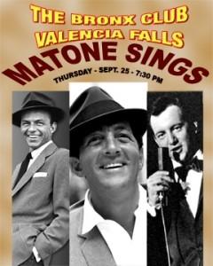 Michael Matone - Frank Sinatra Tribute Act