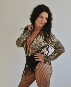 Faye Phillips solo act.  - Cher Tribute Act