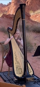 Melody in Flight, Harpist - Harpist