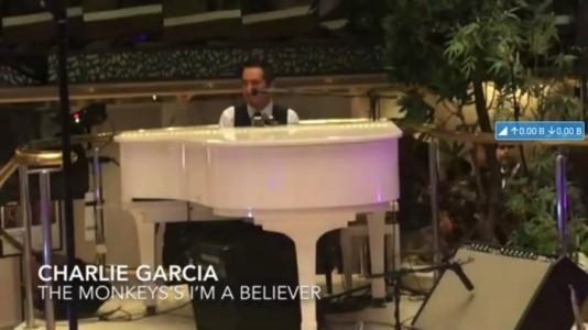 Charlie  Garcia piano bar entertainer - Guitar Singer