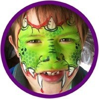 Steff and Nonsense - Face Painter