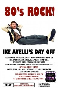 Ike Avelli - Adult Stand Up Comedian