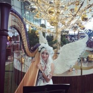 Janita Billingham - Harpist
