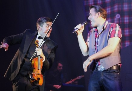 THE FIDDLER AND THE CROONER - Male Singer