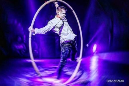 Artsiom Haurylik - Cyr Wheel Act