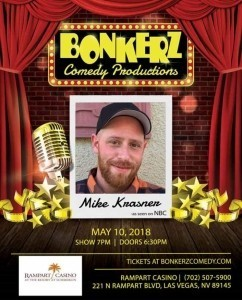 Mike Krasner - Clean Stand Up Comedian