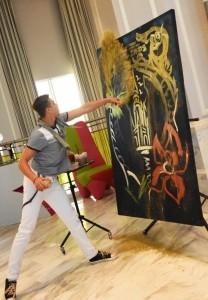 Gennadii Tsvietkov SHOW dancing painter - Other Speciality Act