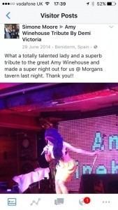 Demi Victoria - Amy Winehouse Tribute Act