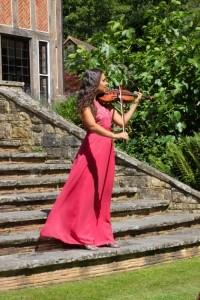 Spotlight Violin - Violinist
