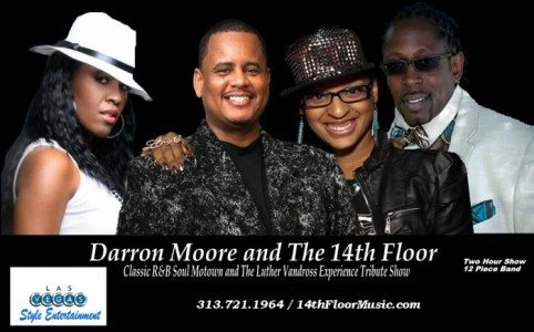 Darron Moore and The 14th Floor Motown / Luther Vandross Experience - Soul / Motown Band