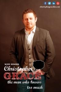 Mentalist & Mind Reader Christopher Grace image