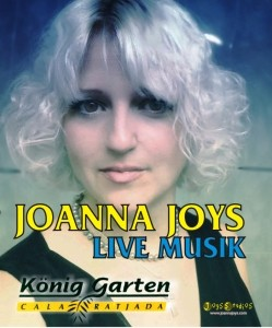 JOANNA JOYS - Female Singer