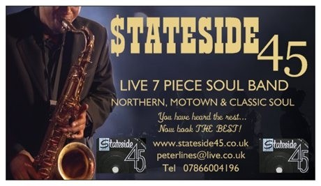 Souled out duo....stateside 45 soul band - Cover Band
