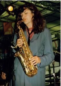 Anita Carmichael Sax Soul Diva - Saxophonist
