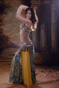Modern turkish style belly dance - Belly Dancer