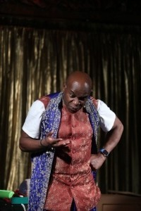 Afro Dizzy Act - Ventriloquist