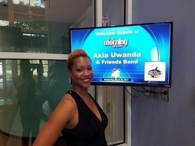 Akia Uwanda - Jazz Singer