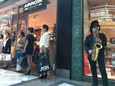Sax Player soloist of Funk  Backtracks (Maceo Parker Style)  - Saxophonist