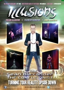 Sean Alexander -The Confusionist - Stage Illusionist