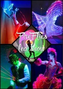 FireFlies show - LED Entertainment
