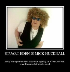 STUART EDEN - Comedy Singer