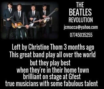 THE BEATLES REVOLUTION INTERNATIONAL TRIBUTE BAND  - Beatles Tribute Band