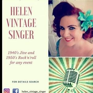 Helen Vintage Singer - Female Singer