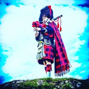 Spud the Piper - Bagpiper